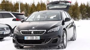 peugeot latest model 2018 peugeot 508 spied hiding underneath 308 wagon mule