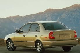 hyundai accent 4 door sedan 2000 05 hyundai accent consumer guide auto