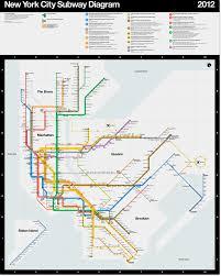 Ny Transit Map News Official 2012 Vignelli New York Subway Transit Maps