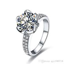 Flower Wedding Ring by Discount Lotus Flower Engagement Rings 2017 Lotus Flower