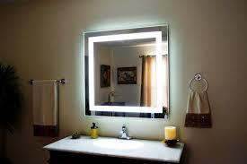 Led Backlit Bathroom Mirror Led Backlit Mirror Top Bathroom Backlit Bathroom Mirror Style