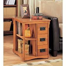 mission style end tables craftsman mission oak nightstand magazine rack wood furniture