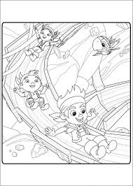 land pirates coloring pages