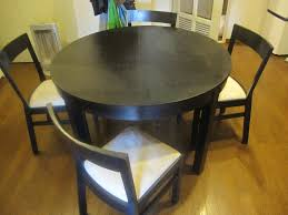 ikea black brown dining table interior nice ikea round dining table and chairs 6 2017 including
