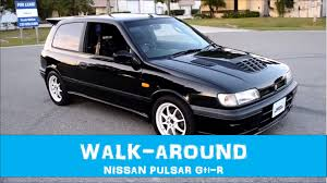 nissan pulsar 1992 1990 nissan pulsar gti r walkaround youtube