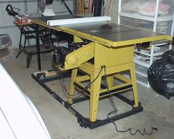 table saw mobile base peter s model railroading articles woodworking table saw
