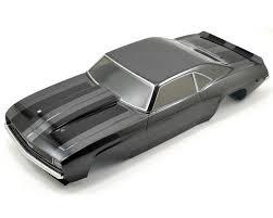 1969 chevrolet camaro rs body set gun metal by vaterra