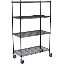husky 90 in h x 90 in w x 24 in d 5 shelf welded steel shelving