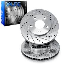 silver jeep grand cherokee 2006 brake rotors front eline drilled slotted jeep grand cherokee 2006