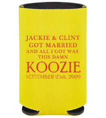 wedding can koozies 10 places to find wedding koozies bestbride101