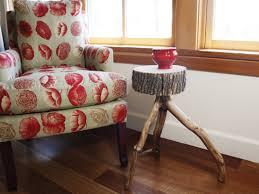 rustic wood side table rustic wood side table make