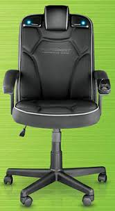 Pc Gaming Desk Chair Pyramat Wireless Pc Gaming Office Chair 2 1 Ohgizmo