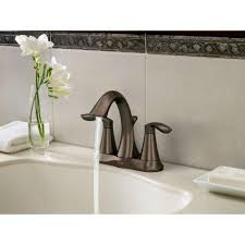 amazon com moen 6410orb eva two handle centerset lavatory faucet