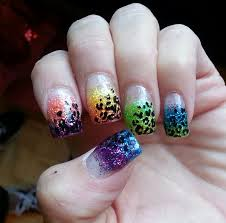 day 209 ombre leopard nail art nails magazine
