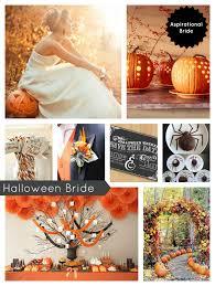 trick or treat halloween theme wedding ideas