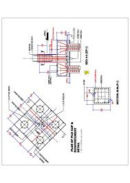 Pedestal Foundation Design Consultation Proser