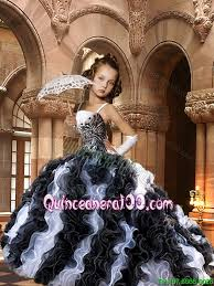 black and white quinceanera dresses 2016 fashionable black and white dresses mini quinceanera dresses