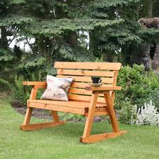 customer reviews for tom chambers fsc wooden rocking garden bench