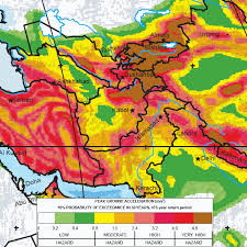 middle east earthquake zone map major earthquake zones on each continent