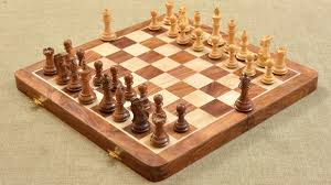 buy foldable chess board u0026 pieces combo in sheesham u0026 box wood online