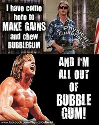 Roddy Piper Meme - they live movie quote with roddy piper i have come here to chew