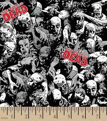walking dead zombie hands fleece fabric joann