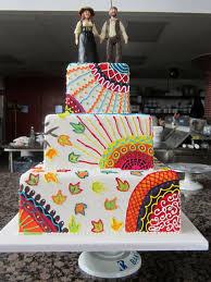 hippie wedding cake ideas best ideas about hippie cake on peace