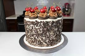oreo black forest cake chelsweets