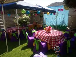 backyard fence party decorating ideas backyard fence ideas