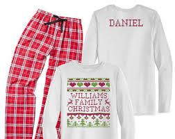 pajamas etsy