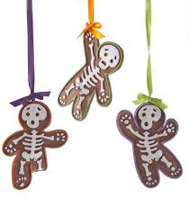 gingerbread skeleton ornament assortment of 3 katherine s collection