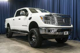 nissan truck white lifted 2016 nissan titan xd 4x4 northwest motorsport
