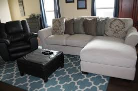 Ashley Furniture Leather Sectional New Furniture The Ashley Wilcot Collection And Mcadams Recliner