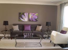 purple livingroom grey and purple living room pictures interior decor