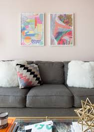 are blush and gray the new neutrals diy living room neutral
