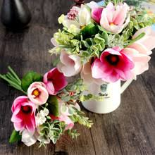 Fake Flowers For Home Decor Popular Natural Silk Flowers Buy Cheap Natural Silk Flowers Lots
