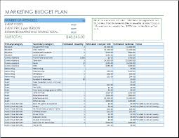 ms excel marketing event budget template formal word templates
