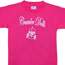jeep shirt crawler dolls pink jeep tshirt