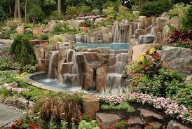 Waterfall Design Ideas Landscaping Ideas By Nj Custom Pool U0026 Backyard Design Expert