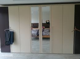 Schlafzimmerschrank Reinigen Schrank Verschönern Folie Weiß Matt Resimdo