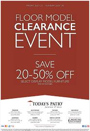 clearance event today u0027s patio furniture u0026 decor