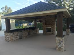 Detached Covered Patio Outdoor Living Photos Pearland Friendswood Pergolas League City