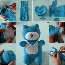 build a teddy how to diy adorable sock teddy