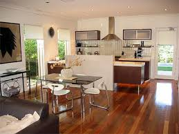 kitchen living room design american kitchen and living room