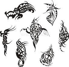tribal designs stock vector illustration of lines 27143277