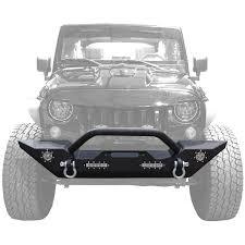 amazon com jeep wrangler jk amazon com genssi rock crawler front bumper led d ring winch hole