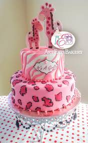 cheetah baby shower animal print cheetah and zebra pink and black fondant girl s baby