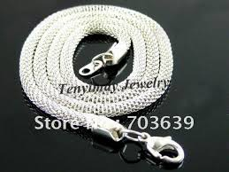 cord necklace wholesale images Hot sale 25pcs 0 5mm necklace cords with 925 sterling silver jpg