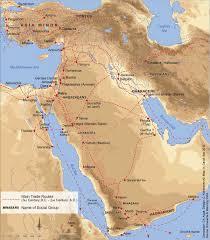 Gulf Of Aqaba Map Atlas Of Jordan The Nabataean Age 4th Century Bc 1st Century