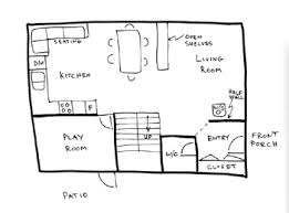 basic home floor plans draw floor plans